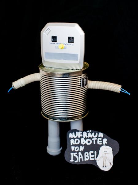 Bild von Aufräumroboter