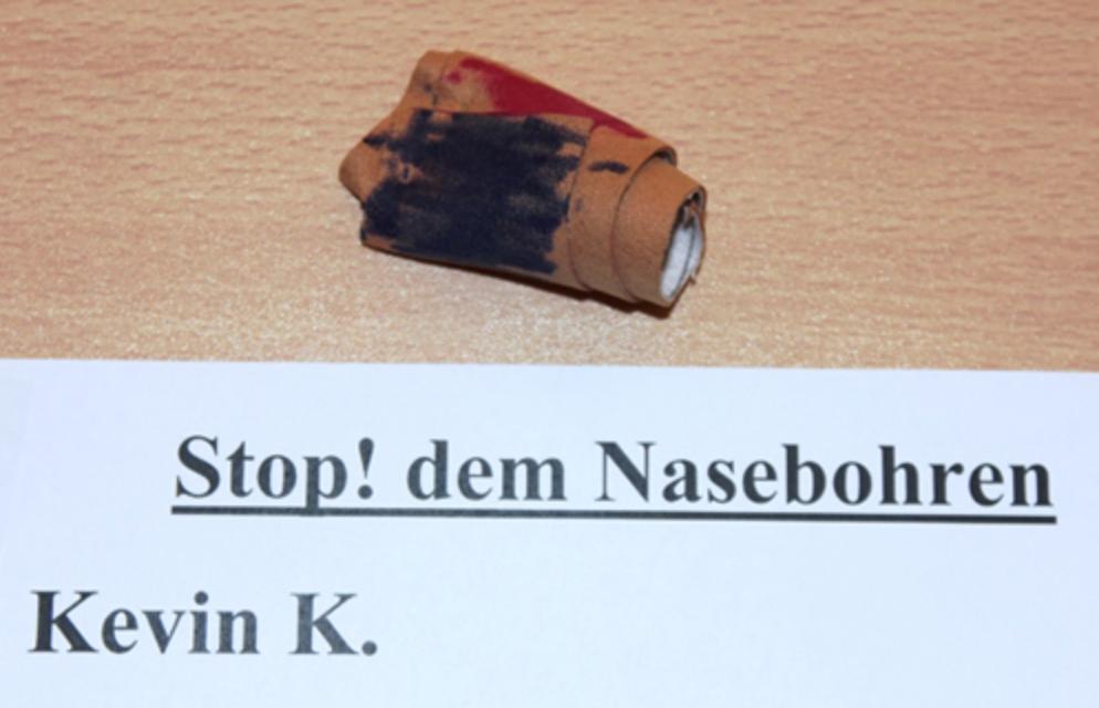 Bild von Stopp dem Nasebohren