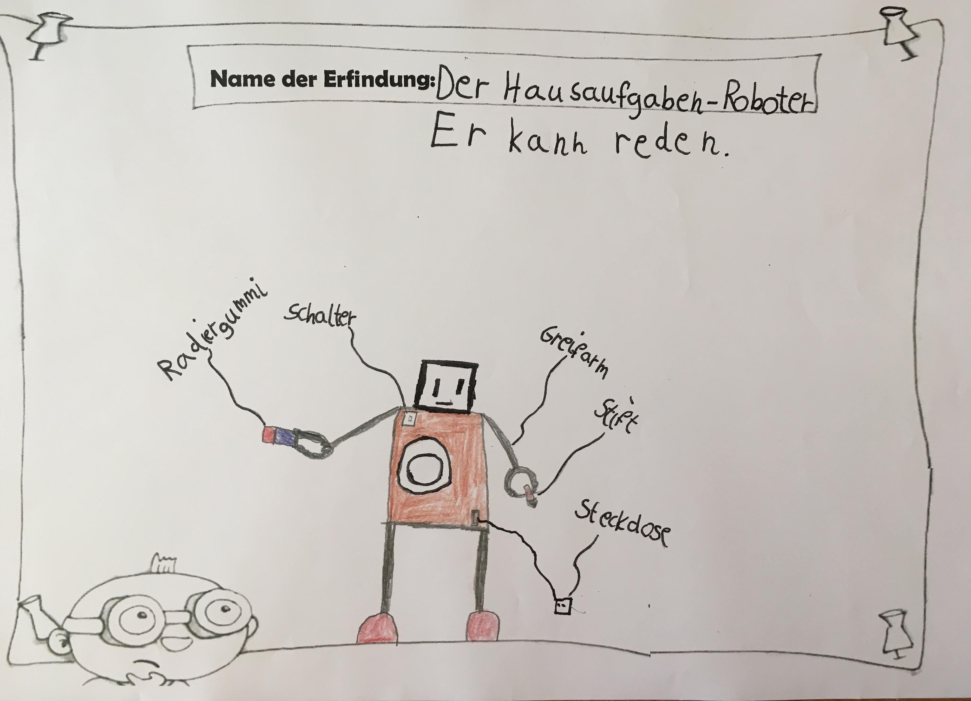 Bild von Hausaufgaben-Roboter